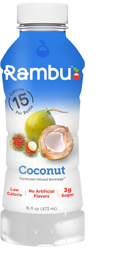 Coconut Flavored Rambutan Infused Energy Drinks